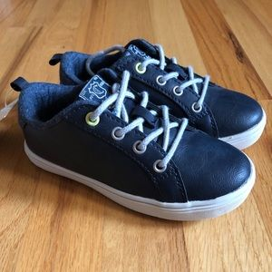 NEW Carters Navy Leather Shoes!